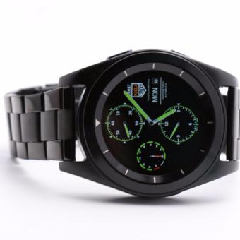 DT G6 Sweatproof Sports and Business Bluetooth Smartwatch withMetal Strap (Black) - 4