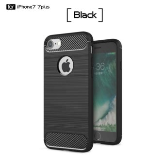 DTD Luxury Hybrid Shockproof Carbon Fiber Texture Brushed Soft TPU Silicon Case For iPhone7 Plus 5.5inch Bumper Back Cover Price Philippines