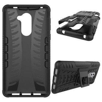 Dual Layer Shock-Absorption Armor Cover Full-body Protective Case with Kickstand Combo PC+TPU for Huawei Honor 6X / Mate 9 Lite / GR5 2017 - intl - 2