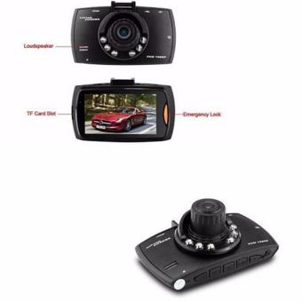 Dual Lens G30 Full HD 1080P 2.7 LCD Night Vision G-sensor DashVerygoodCam Car DVR Vehicle Recorder Camera (Black)