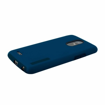 Dual Pro Shockproof Case for LG Stylus 3 (Blue) - 4