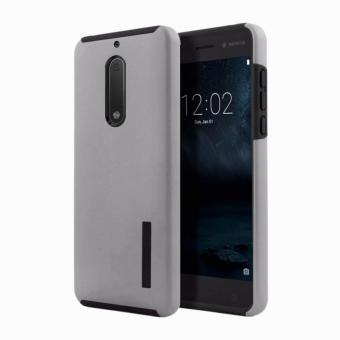 Dual Pro Shockproof Case for Nokia 5 (Grey)