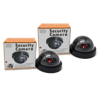 Dummy Fake Round Security Surveillance Camera Set of 2 Price Philippines