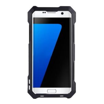 Dust/Shock/Waterproof Metal Case Cover+Camera Lens For SamsungGalaxy S7 edge Black - intl - 2