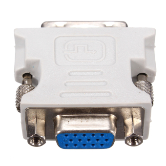 DVI-D (18?) Dual Link Male to VGA 15 Pin Female Adapter Converter