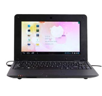 DWO Netbook 10.1inch Android 4.2 Wifi VIA 8880 512MB RAM 4G mini laptop HDMI Output Camera 0.3M (Black) (Intl)