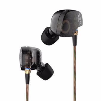 Dynamic Balanced Armature IEMS In Ear HIFI Monitors DJ StudioStereo Music Earphones Headphone Earbuds For Mobile Phone iPhoneSamsung MP3 MP4 Music Player No Mic - intl - 3