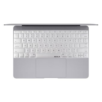 EA016S Patent Air Guiding Keyboard Membrane Protection Sticker For MacBook 12' (Silver) (Intl) - picture 2