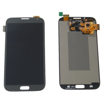 Easybuy LCD Display + Touch Screen Digitizer For Samsung Galaxy Note 2 N7100 Gray - intl