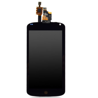 Easybuy LCD Display+Touch Screen Digitizer Assembly For LG GoogleNexus 4 E960 Black - Intl