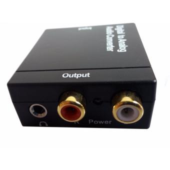 Easyday SPDIF Toslink Optical Coaxial Digital to RCA 3.5mm Analog Audio Converter Support Volume Control - 4