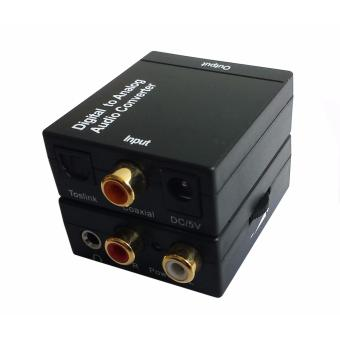 Easyday SPDIF Toslink Optical Coaxial Digital to RCA 3.5mm Analog Audio Converter Support Volume Control - 5