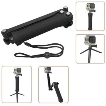 Ebuy yu Universal Waterproof 3-Ways Monopod For Action cam GoProHero 4/2/3/3+/SJCAM SJ4000/Xiaoyi - 2