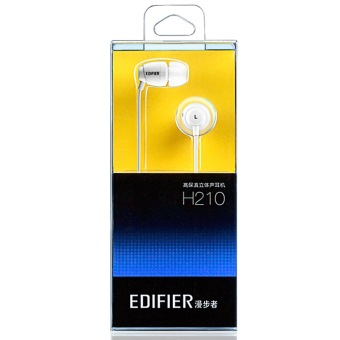 Edifier H210 Stereo Headset In-ear Music Earphone with Mic&control Universal (white ) - 5