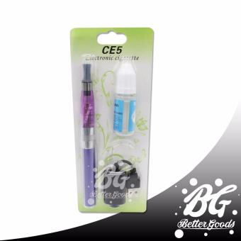 eGo-T CE5 Complete Starter Kit 1100mAh Electronic Cigarette withUSB Charger (Purple)