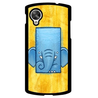 Elephant Cute Pattern Phone Case for LG Nexus 5 (Multicolor)