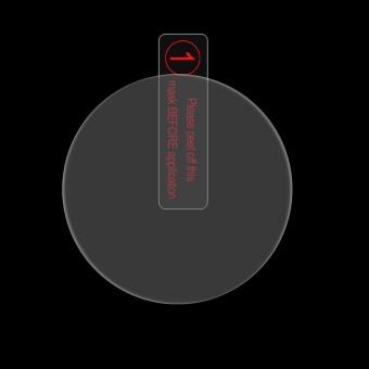 ENKAY Hat-Prince For Garmin Forerunner 935 Smart Watch 0.2mm 9HSurface Hardness 2.15D Explosion-proof Tempered Glass Full ScreenFilm - intl - 2