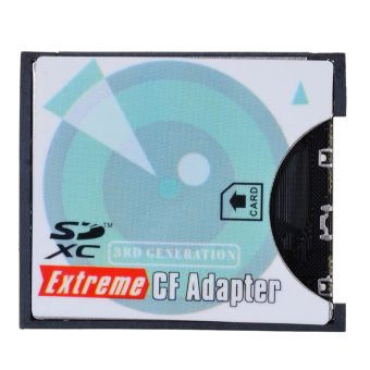 EP-025 SD SDHC SDXC to Extreme Compact Flash CF Type II Adapter