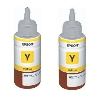 Epson Original T6644 70ml ink Bottle (Yellow) Set of 2