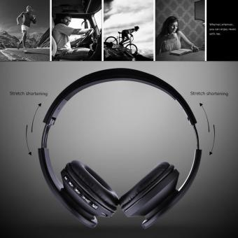 Esogoal Wireless Bluetooth Headphone Foldable Headset Noise Isolation Over Ear Earphone with Mic, (Black) - intl - 5