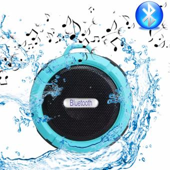 ET-C6 Sport Shockproof Waterproof Bluetooth HiFi Outdoor Speaker(Blue)