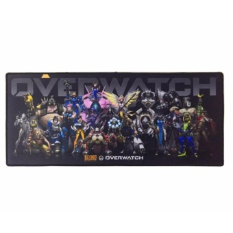 EXCEL Overwatch Comfort Blizzard Gaming Keyboard MousePad Mouse Pad(Gray)