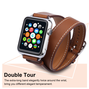 Excelvan AMS-02 Bracelet Strap Watch Band for Apple Watch 42mm(Brown) - Intl ...