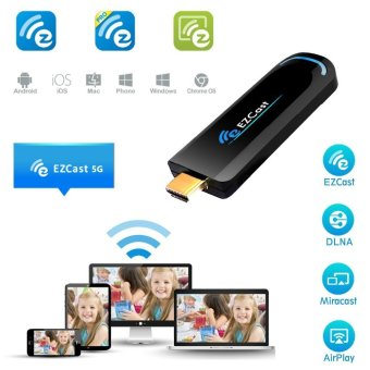 EZCast TV Dongle Dual Band 2.4GHz WiFi Miracast Airplay DLNA TV Stick - 5