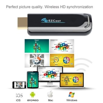 EZCast TV Dongle Dual Band 2.4GHz WiFi Miracast Airplay DLNA TV Stick - 2