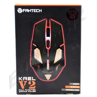 0235c5aad9 Best Buy FANTECH KAEL V2 FULL FUNCTION GAMING MOUSE - BLACK in Philippines