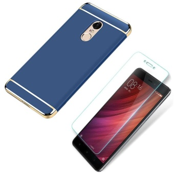 Fashion and Luxury High Quality Select Mobile Phone Case With HD Anti Blue-Ray Tempered Glass for Xiaomi Redmi Note 4X/ Xiaomi Redmi Note4X/Xiaomi RedmiNote4X/Xiaomi Red Mi Note 4X/redmi Note4X - intl