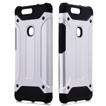 Fashion Armor Protect Back Cover Case For Xiaomi Mi Max (Silver) -intl