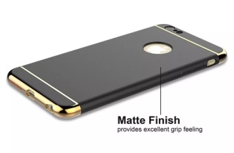Fashion Shockproof for iPhone 5s SE Plating Metal TextureSkin-friendly Mobile Phone Cover Case - intl - 2