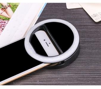 FFY Mobile Phone Fill Light LED Self-Sticks Flash Light Beauty FillLight Round Flash Light Artifact Apple Lens Photography &Studio Lighting - intl - 3