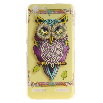 Fit Soft TPU Phone Back Case Cover For Lenovo Vibe K5 (ColorfulOwl) - intl - 2