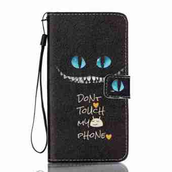 Flip Cover Leather Case for Samsung Galaxy J7 (2016) J710 (BlueEyes) - Intl