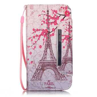 Flip Cover Leather Case for Samsung Galaxy S7 Edge (Eiffel Tower)