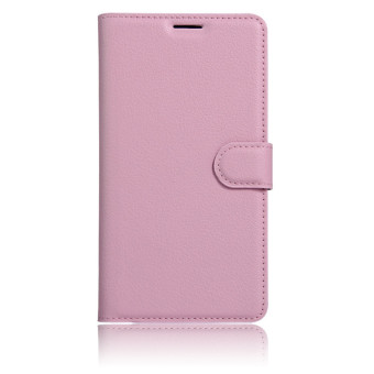Flip Leather Wallet Case for Oppo F1s (Pink) - intl