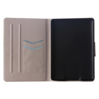 Flip Wallet Card Slot Case Stand Cover for Amazon Kindle PaperwhiteBlue - intl - 4
