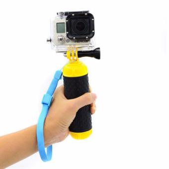 Float Hand Grip Buoyancy Rod Pole Stick Monopod Tripod for Gopro5 SJ4000 SJCAM Go Pro 5 4 3 Action Sport Camera Accessories