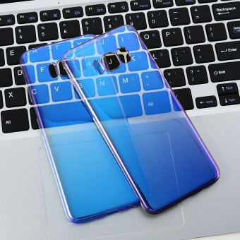 FLOVEME Blue Ray Gradient Case For Samsung Galaxy S8 Plus - intl - 2