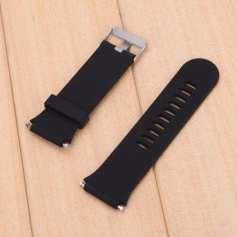 For Garmin Forerunner 920XT Strap with Original Screws(Black) - 4