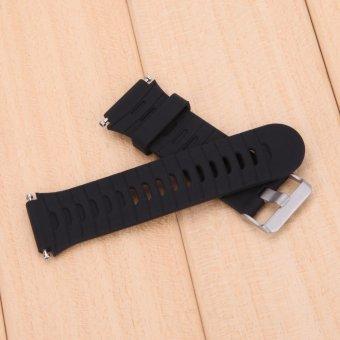 For Garmin Forerunner 920XT Strap with Original Screws(Black) - 3
