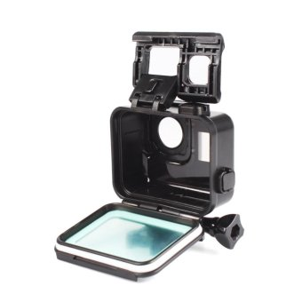 For Gopro Hero 5 Accessories 45m Waterproof Hoursing Case withTouch Black Cover - intl - 3