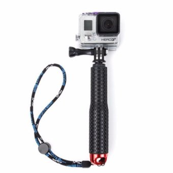 For GoPro Selfie Stick self pole Aluminum Handheld Monopod for Gopro Hero 5/4/3+/3/2/1 camera Extendable Tripod /17.5cm-48cmAdjustable length/could use under water/high qualit - intl