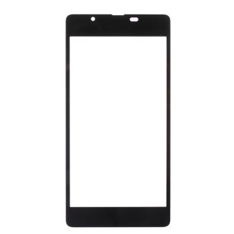 For Microsoft Lumia 540 Front Screen Outer Glass Lens(Black) - 2