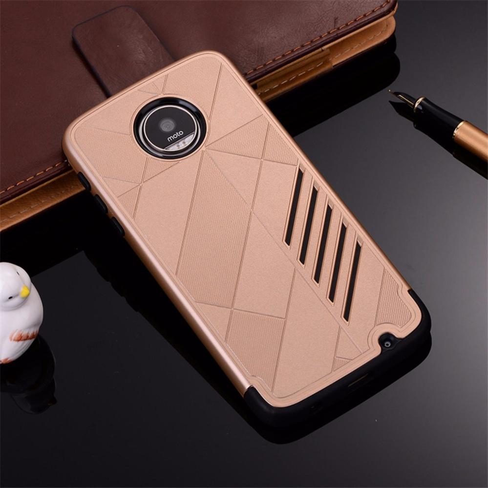for Motorola MOTO Z Play [Split Joint] PC + TPU Hybrid Cell PhoneBack Case ...