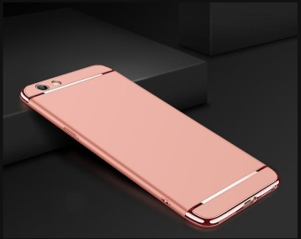 For OPPO F1S A59 phone case Luxury Chromed 3in1 Hybrid ArmorAnti-falling cover Shockproof phone shell Hard PC Back Case /PhoneProtective for OPPO F1S A59 /OPPO F1S A59 carrying case - intl - 2
