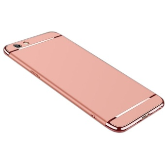 For OPPO F1S A59 phone case Luxury Chromed 3in1 Hybrid ArmorAnti-falling cover Shockproof phone shell Hard PC Back Case /PhoneProtective for OPPO F1S A59 /OPPO F1S A59 carrying case - intl - 5