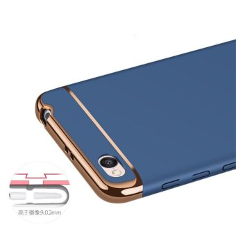 For Redmi 4A Hybrid 3 in1 Case Hard Plastic/PC matte Phone Case soft silicone/ TPU Phone Cover Shockproof Phonecase /Phone Protector FOR REDMI4A / redmi 4a /Red MI 4A - intl - 4